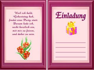 Einladungssprüche Kindergeburtstag Sms Einladungssprüche Zum Geburtstag  Kostenlos
