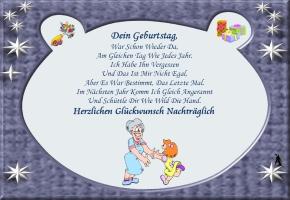 Lustiges gedicht zum 95 geburtstag