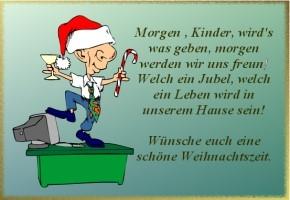 lustige weihnachtsgedichte für kinder