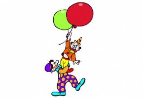 zirkus clown zum ausdrucken kostenlos